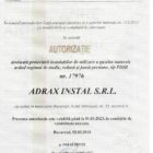 Autorizatie proiectare gaze